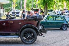 Bedford, Bedfordshire, 2 giugno 2019 BRITANNICO Frammento di Austin Car Austin Motor Company Limited era un produttore britannico fotografie stock