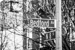 Bedford et 8ème Photographie stock