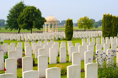 Bedford House Cemetery world war one Ypres Stock Photos