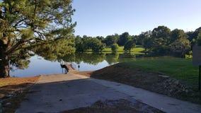 Bedford Lake. Pond, fishing, picnic, travel stock images