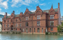 Bedford Magistrates Court. On the Great Ouse Stock Photo
