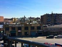 Bedford Park Blvd-U-Bahnstation im Bronx -1 stockbilder