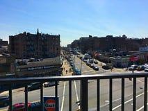 Bedford Park Blvd-U-Bahnstation im Bronx -3 stockfoto