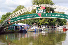 Bedford river festival. Royalty Free Stock Images