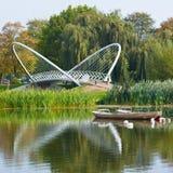 Bedford se fue volando el puente Imagen de archivo
