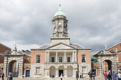 The Bedford Tower at the Dublin Castle. Dublin, Ireland - Aug 11, 2014: The Bedford Tower at the Dublin Castle in Dublin, Ireland on August 11, 2014 Royalty Free Stock Photo