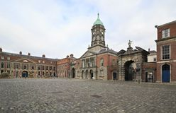 Bedford Tower in Dublin Castle Royalty Free Stock Images