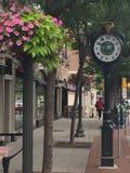 Bedford ulica w Stamford, Connecticut Zdjęcie Royalty Free