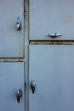 Bedienfeld-Einschließungs-Türen lizenzfreies stockfoto