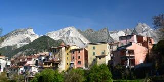 Bedizzano Massa και επαρχία του Καρράρα Τοσκάνη Ιταλία στοκ φωτογραφίες