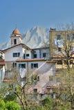 Bedizzano Massa και επαρχία του Καρράρα Τοσκάνη Ιταλία στοκ φωτογραφίες με δικαίωμα ελεύθερης χρήσης