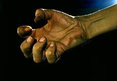 bedjande hand Royaltyfri Foto