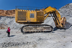 Bednarz kopalnia - Otwarta jama 7 Obrazy Stock