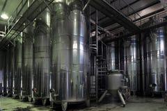 Bednie wino przy wytwórnią win Obrazy Stock