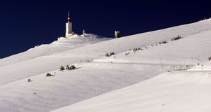 Bedoin no inverno Fotografia de Stock