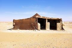Bedoin tent in Erg Chebbi desert Morocco Stock Image