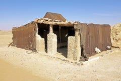 Bedoin tent in Erg Chebbi desert Morocco Royalty Free Stock Photo