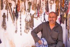 Bedoiun Petra Jordan. Bedouin in Petra the lost city in Jordan Stock Photos