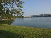 Bedok reservoir Royalty Free Stock Photos