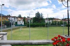 Bedonia-` s Fußballplatz lizenzfreie stockfotos