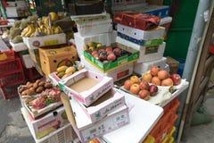 Bedorven vruchten Stock Afbeeldingen