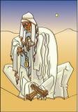 Bedouin ilustração do vetor