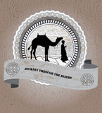 Bedouin vector illustratie