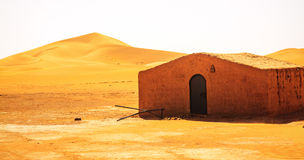 Bedouin Berber nomad tent in the desert Morocco Stock Photography