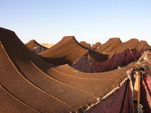 Bedouin camp in Morocco Royalty Free Stock Photos