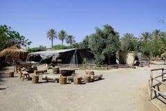 Bedouin dorp Royalty-vrije Stock Foto