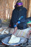 Bedouin family Stock Image