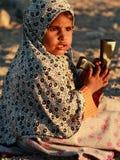 Bedouin girl Stock Images