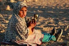Bedouin girl Stock Photo