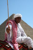 Bedouin in giza Stock Photography