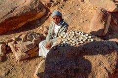 Bedouin guy selling Stock Photography