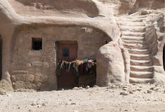 Bedouin home Stock Images