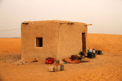 Bedouin home in the desert Royalty Free Stock Image