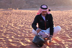 Bedouin-Jordão Fotos de Stock Royalty Free