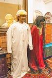 Bedouin kinderen in traditionele kleren Stock Afbeelding