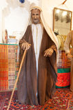 Bedouin man in traditional dress Stock Image