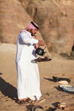 Bedouin mens Royalty-vrije Stock Foto