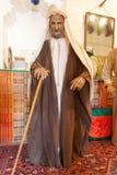 Bedouin mens in traditionele kleding Stock Afbeelding
