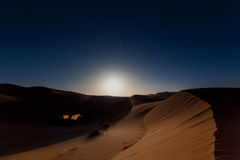 Bedouin nomad tent camp Royalty Free Stock Photography