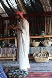 Bedouin pharmacist Royalty Free Stock Images