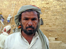 Bedouin portrait Stock Photography