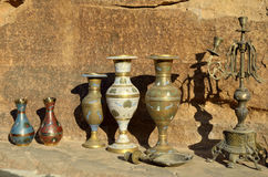 Bedouin souvenirs, Jordan Royalty Free Stock Photos