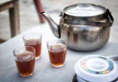 BedouinTea. Bedouin Tea in Dana on the Kings Road Jordan Royalty Free Stock Photo