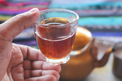 Bedouin Tea stock images