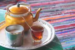 Bedouin Tea Royalty Free Stock Image