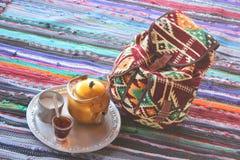 Bedouin Tea Stock Photo